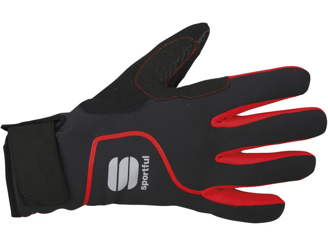 Sportful Sotto Zero Bike Gloves red/black